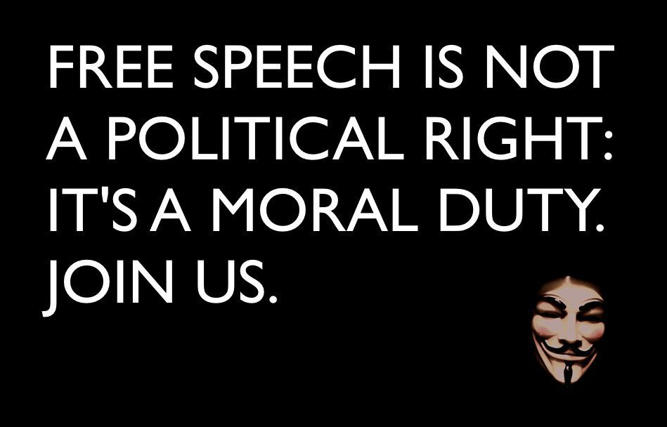 Free Speech is a Civil Right