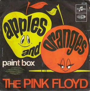 Pink Floyd - Primeros Simples 1967+-+Apples+and+Oranges+b-w+Paint+Box+(7'')