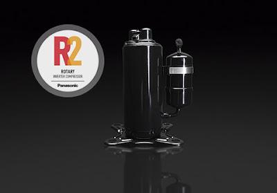 Nuevo Compresor Panasonic R2 Rotary