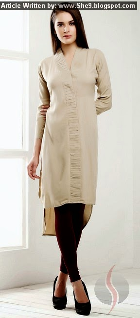 Latest Pics of Long Tops . Kurti for Girls