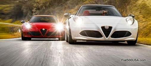 Alfa Romeo 4C Coupe and Spider
