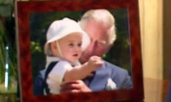 New Photo Of Prince Charles With Prince George
