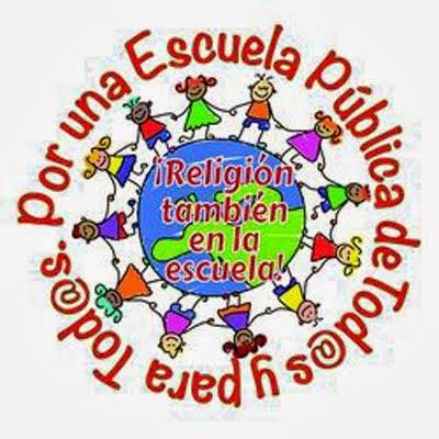 RELIGIÓN EN LA ESCUELA.