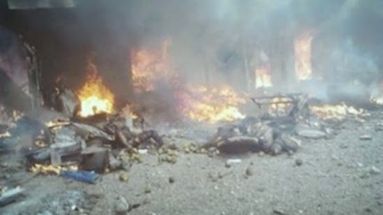 bomb explosions maiduguri borno state