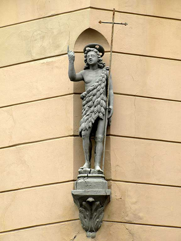 John the Baptist, via Carraia angolo via San Giovanni, Livorno