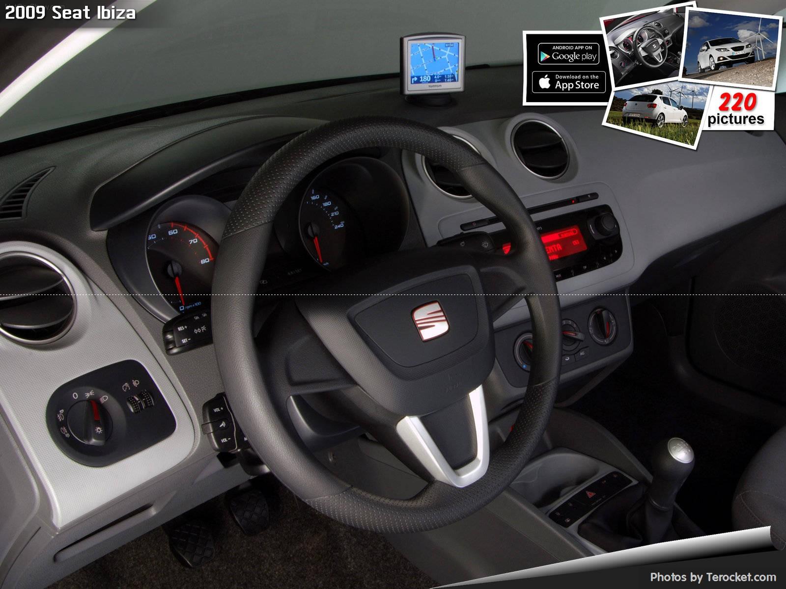 Hình ảnh xe ô tô Seat Ibiza 2009 & nội ngoại thất