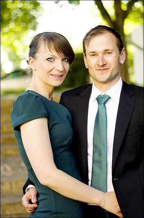 Hochzeit, Portrait
