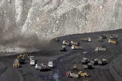Gevra mine, operated by Coal India Limited  (Credit: Wikimedia Commons) Click to enlarge.