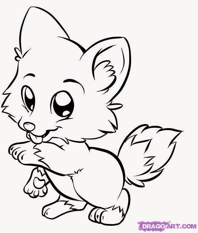 coloring pages baby animals - photo#4