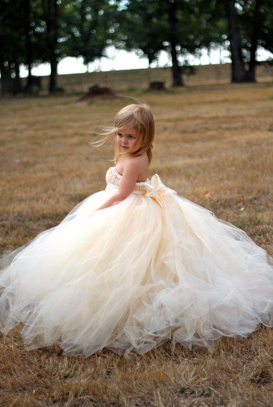 Robe mariage petite fille d'honneur
