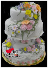 Wedding cake~Royal Icing Flower