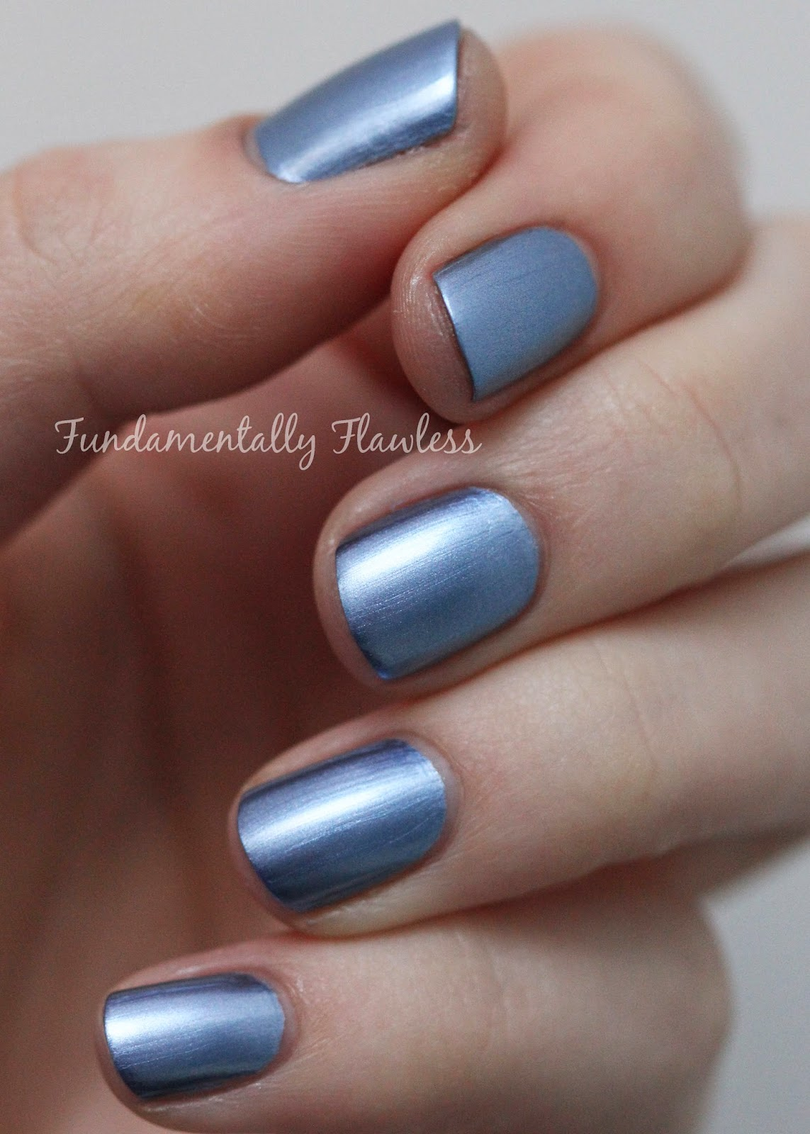 Models Own Colour Chrome Collection Indigo Swatch