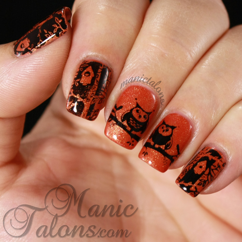 Messy Mansion MM38, Owl Manicure