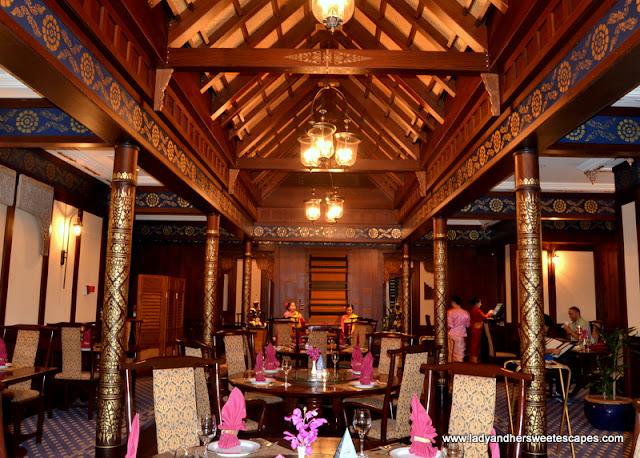dining hall at Benjarong
