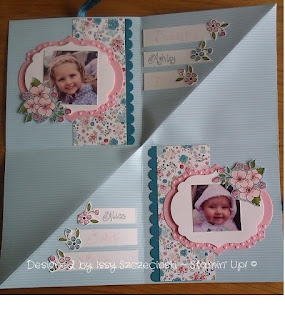 Stampin' Up! Scrapbook project