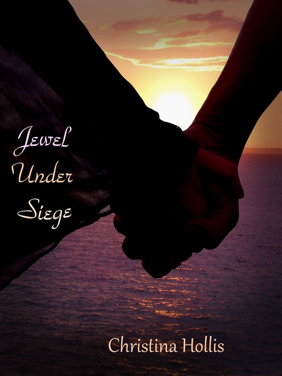 http://www.amazon.co.uk/Jewel-Under-Siege-Christina-Hollis-ebook/dp/B00IJZLM6O/ref=sr_1_1?ie=UTF8&qid=1396339351&sr=8-1&keywords=Jewel+Under+Siege