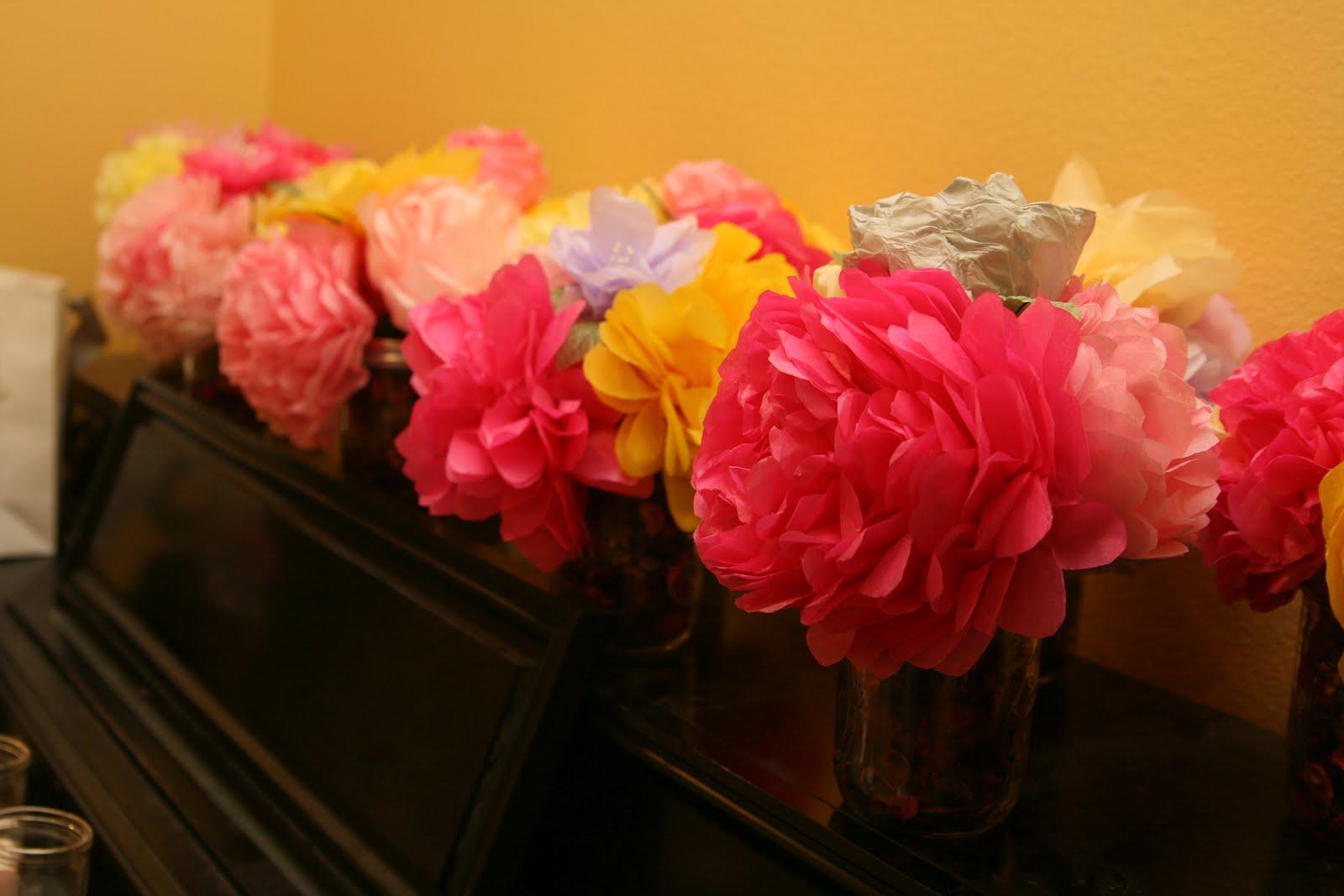 Lovenote Crafts Diy Scented Tissue Paper Flowers