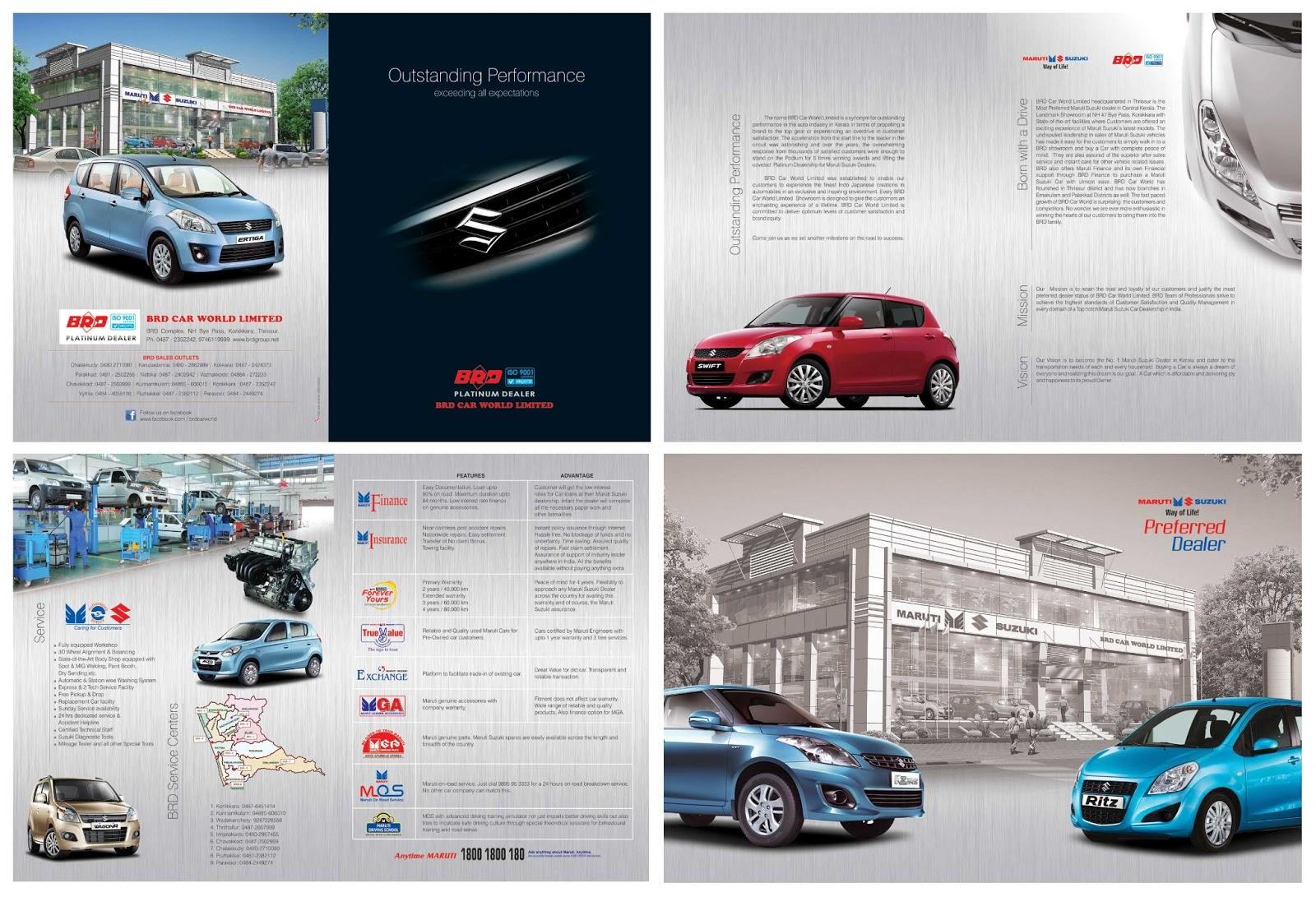 C o ad ventures brd car world brochure design for Automobile brochure design