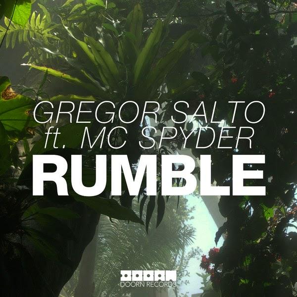 Gregor Salto - Rumble (feat. MC Spyder) - Single  Cover