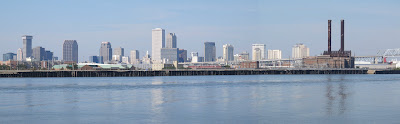 New Orleans Skyline from the Mighty Mississippi