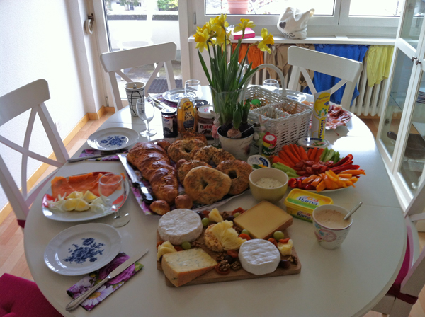 Who`s in for some Easter brunch,then check out this feast