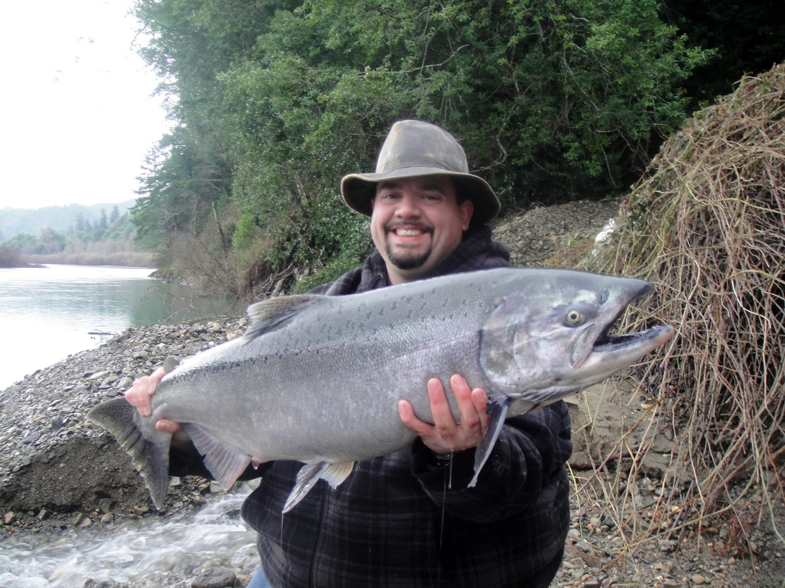 Chetco river kings happy birthday kenny rogue river for Kings river fishing