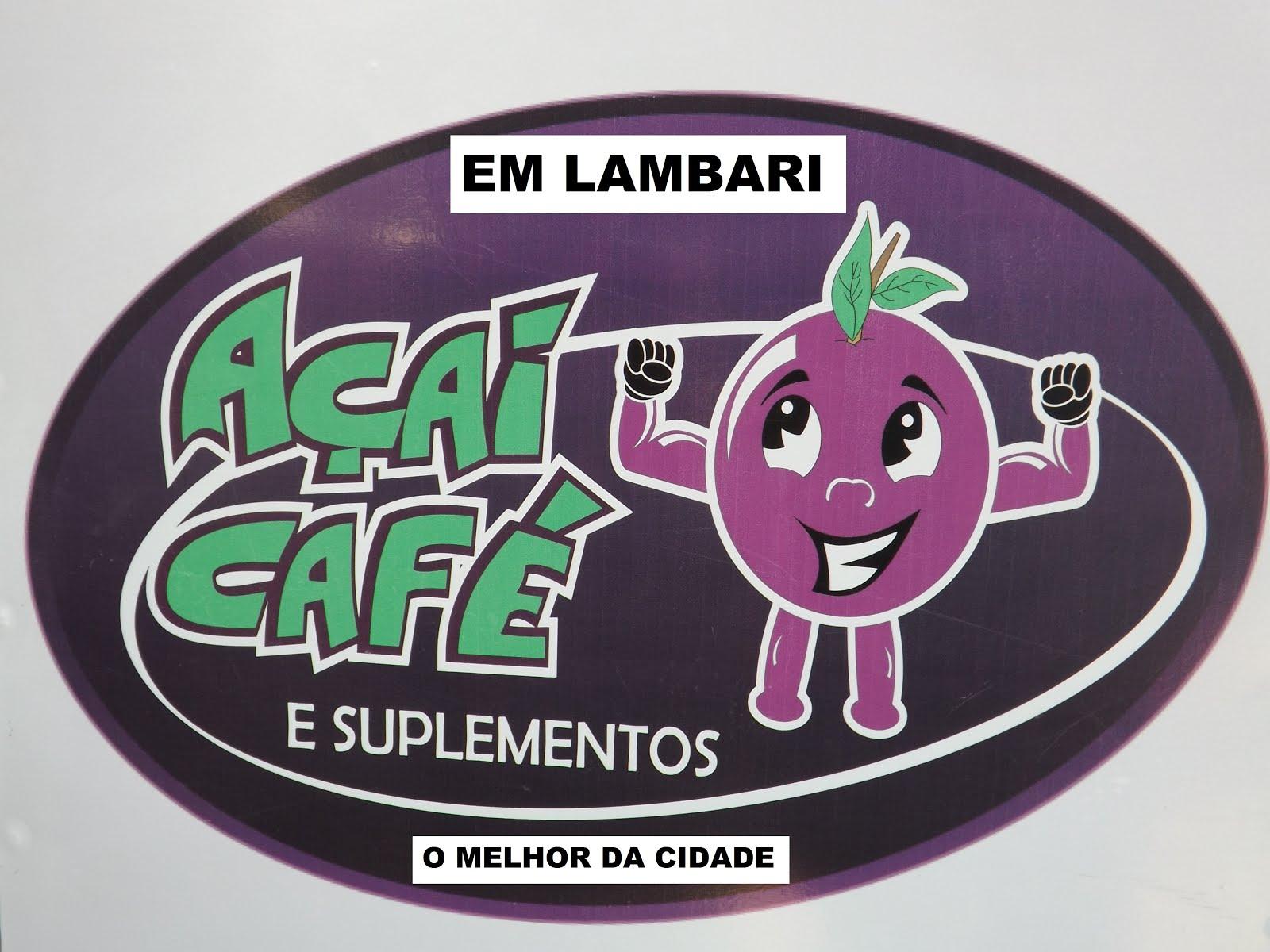 """AÇAÍ CAFÉ DE LAMBARI """"DESTAQUE DO ANO 2016"""""""