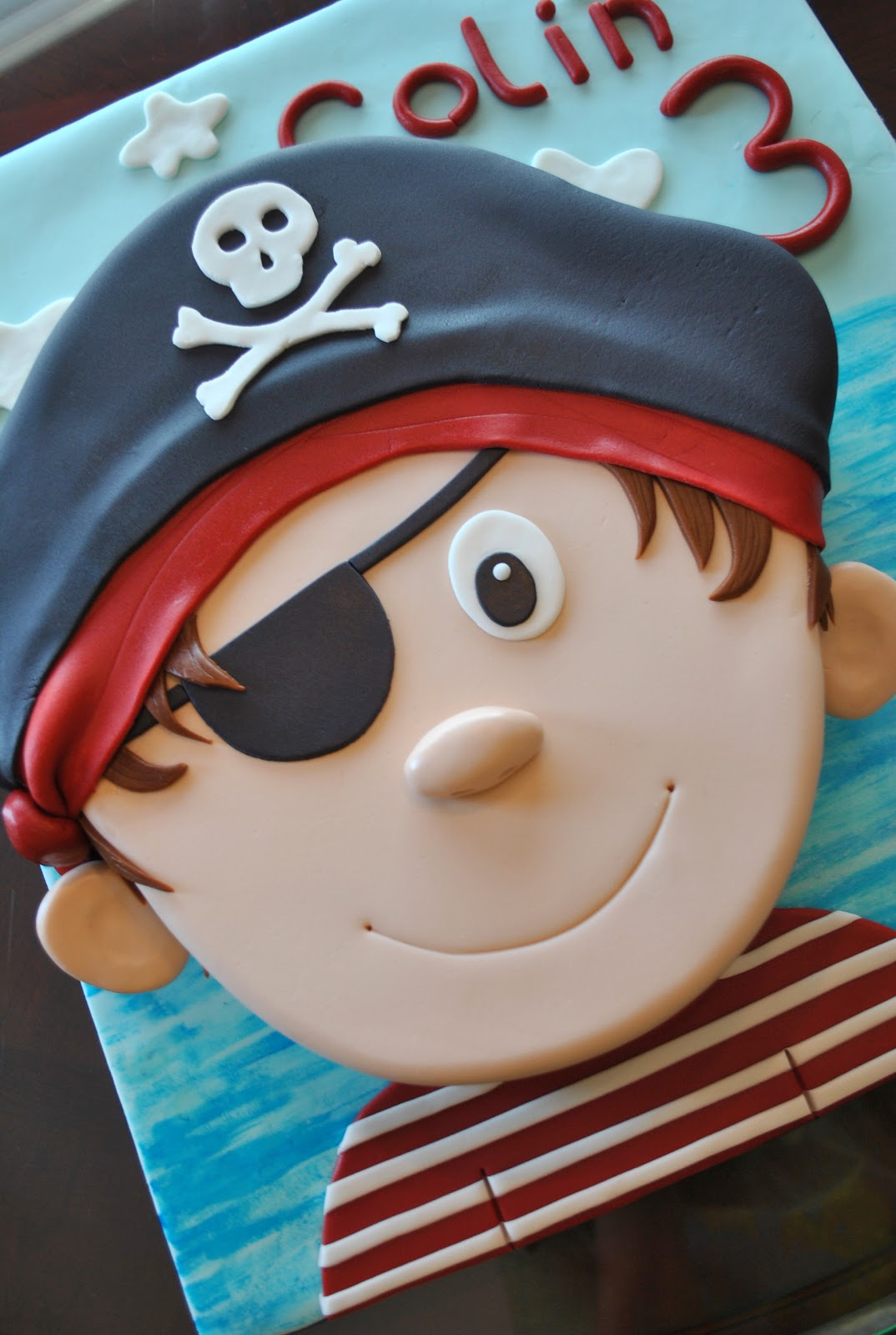 Pirate cake - photo#5