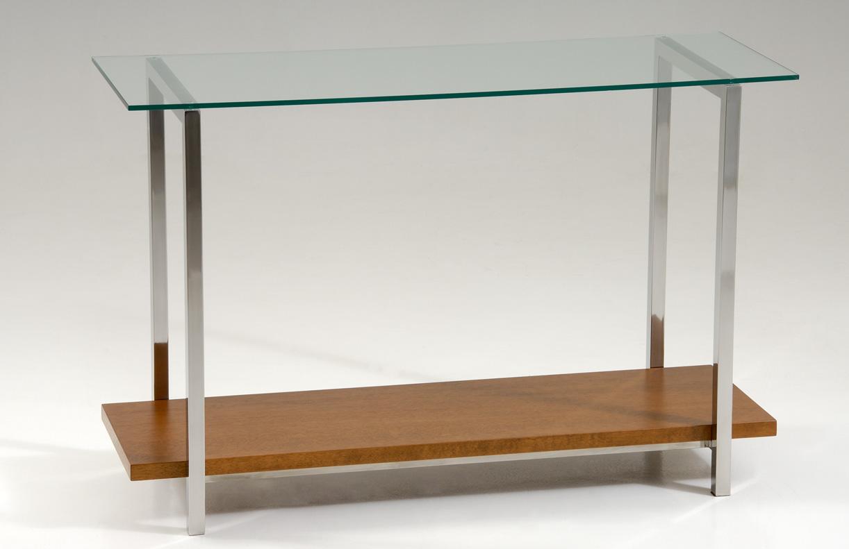 Aparador Inox Madeira ~ Aparador em aço inox, vidro e madeira Design Inox
