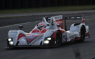 Alex Brundle Zytek Z11SN Nissan Greaves Motorsport