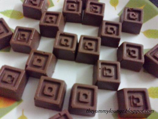 Homemade Chocolates recipe with gift idea