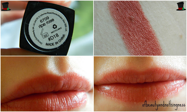 Favourite Autumnal Shades: Lips!