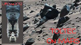 Découvert sur Mars:Visage toltèque, bâtiments anciens, langue pictographique gravée dans la roche