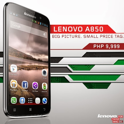 Lenovo A850 Specs