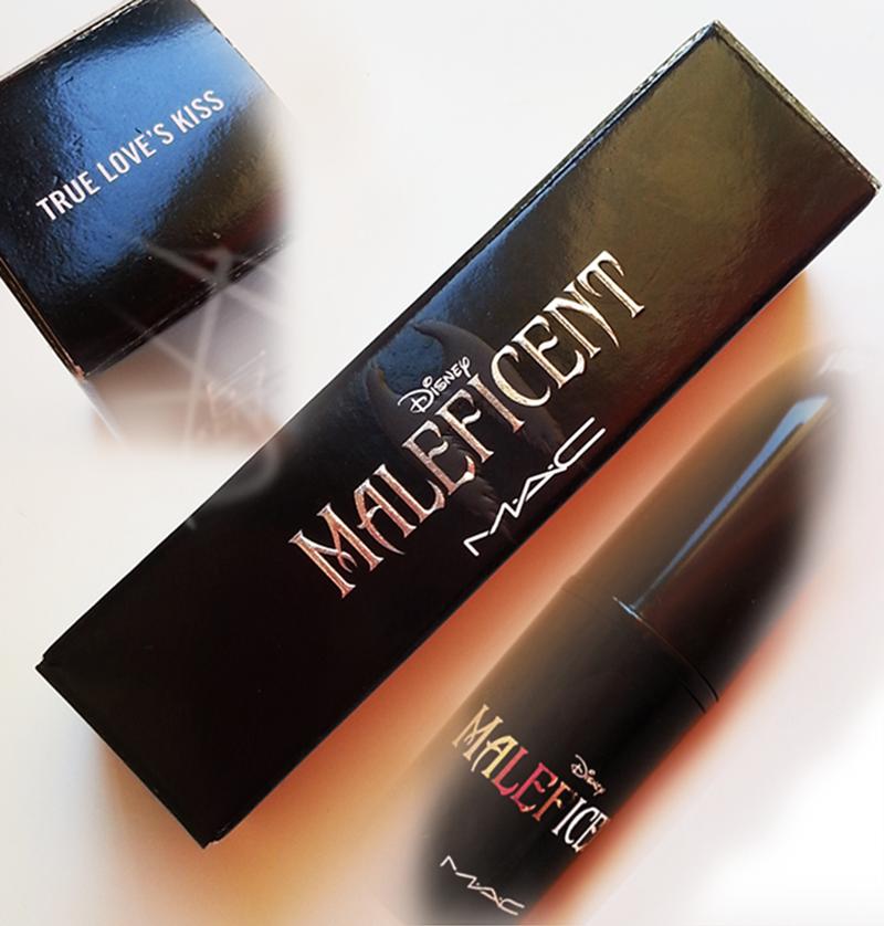 True Love's Kiss Lipstick Mac Maleficent packaging