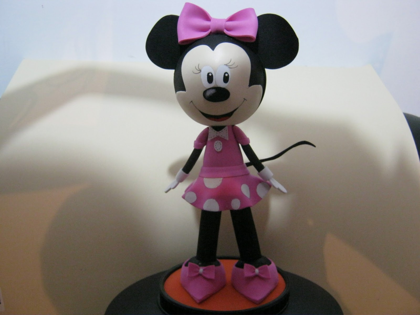 Como Hacer Fofuchas De Minnie Mouse