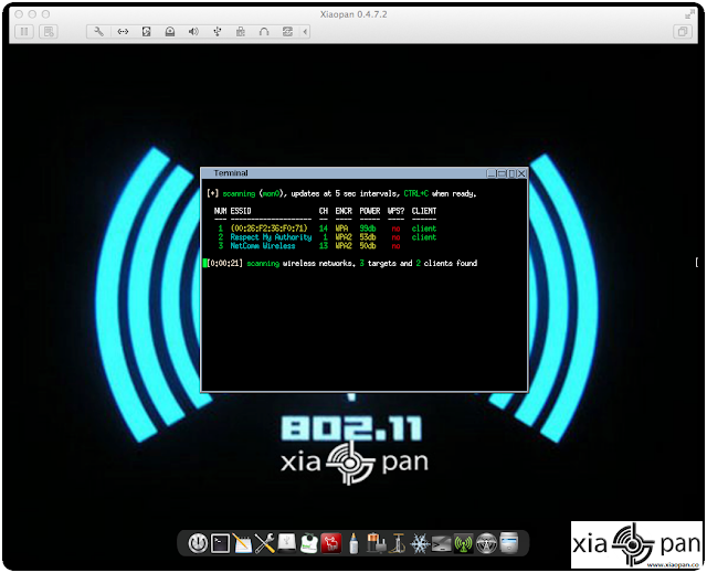 Xiaopan OS - Pentesting Distribution for Wireless Security Enthusiasts
