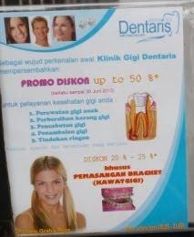 Promo Klinik Gigi :DENTARIS
