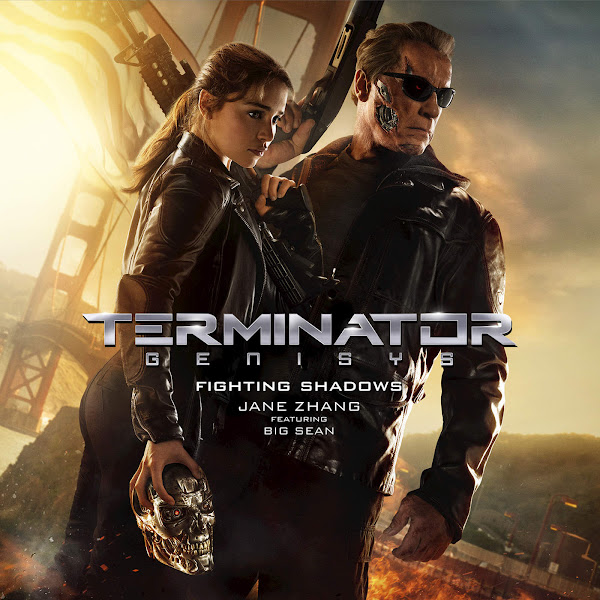 """Jane Zhang - Fighting Shadows (From """"Terminator Genisys"""") [feat. Big Sean] - Single Cover"""