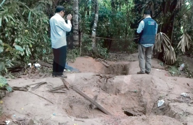 129 kubur  Rohingya