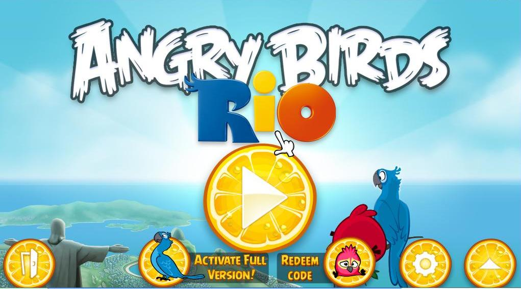 Angry birds rio version 1.4.0 include serial for pc