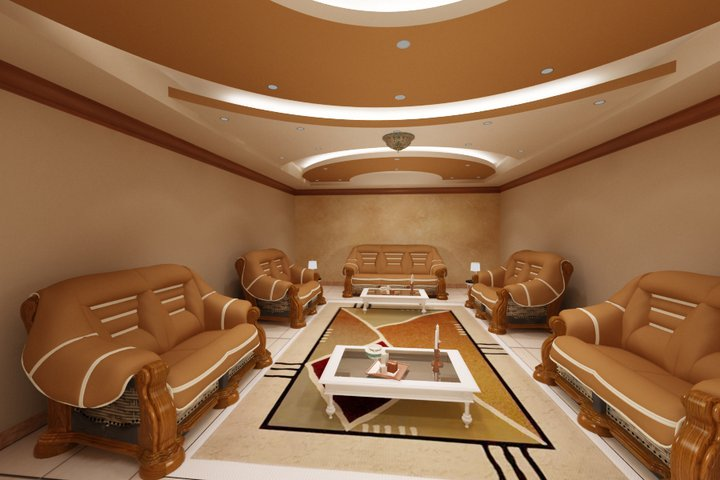Creative False Ceiling Designs For Living Room From Gypsum
