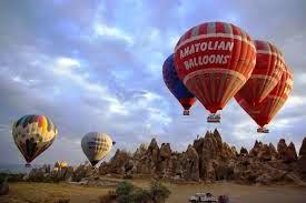 globo aerostatico en Capadocia Turquia