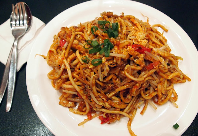 Mee Goreng from KK Malaysian, Wellington New Zealand