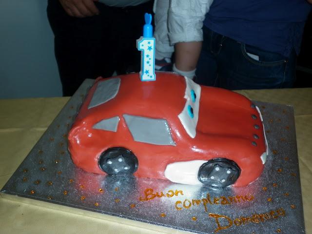torta cars, primo compleanno del mio piccino!!!