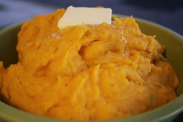 yummy mix of two veggies, Butternut Squash and White Sweet Potato Mash ...