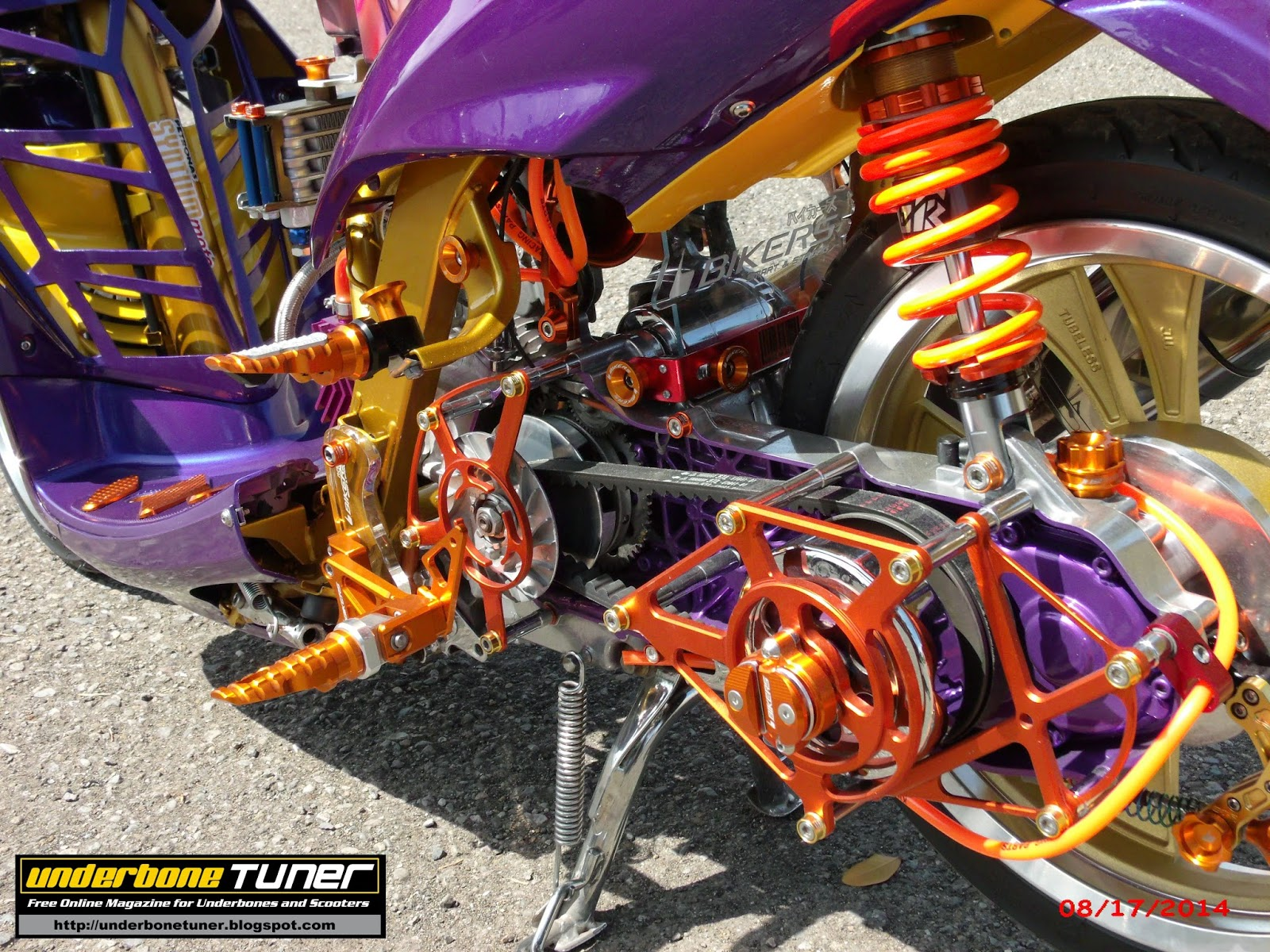 underbone tuner  scooter club modified yamaha mio amore