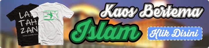 kaos islam muslim keren