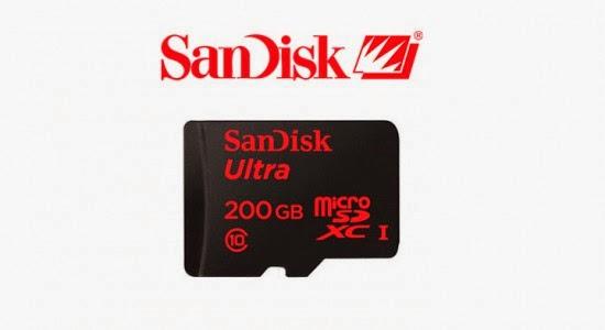 SanDisk Ultra - Cartão SD de 200Gb