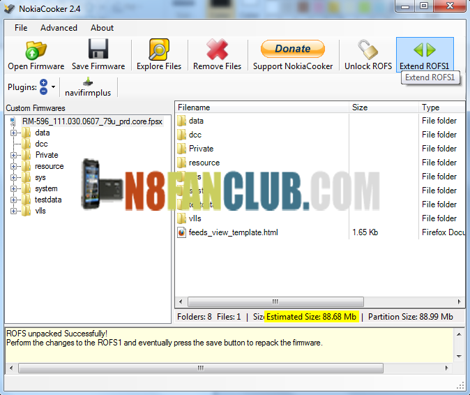 How to Enable Custom Theme Effects on Symbian Belle v111